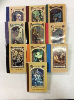 Series Of Unfortunate Events Books 5 For  15 Free Shipping
