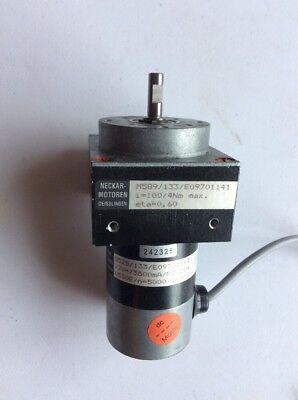 Neckar-motoren Servo Motor M589 I100 4nm-max Eta0.60 G525 12v3500ma 21w