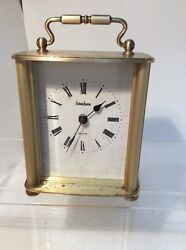 EUC! NEIMAN MARCUS TABLE CLOCK , STILL WORKS