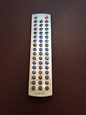 SunBriteTV SB-5574UHD Remote for Outdoor TV Cleaned Tested w/Batt  MC222 - Sunbritetv Sb