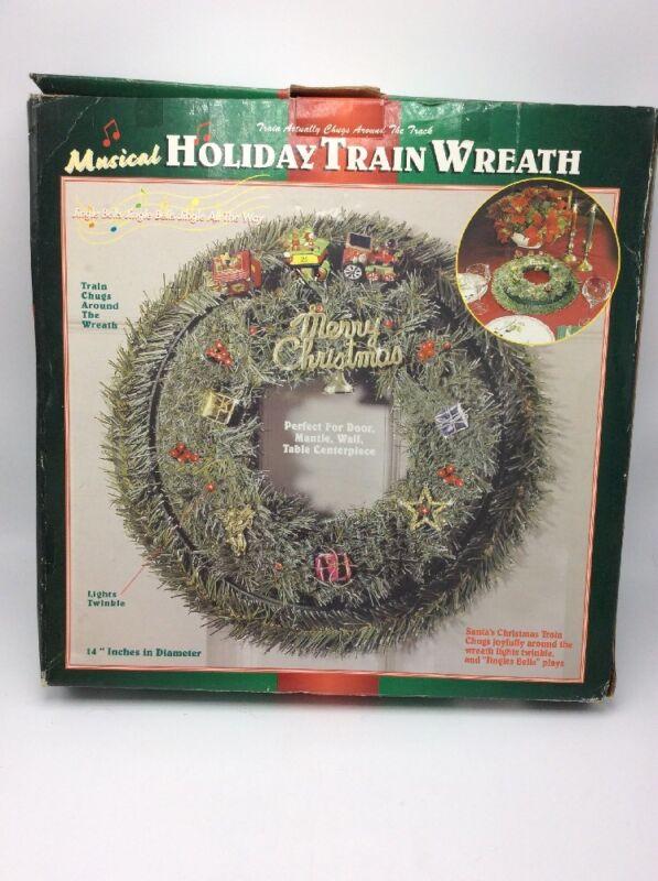j.s.n.y musical train wreath. Vintage  XM2