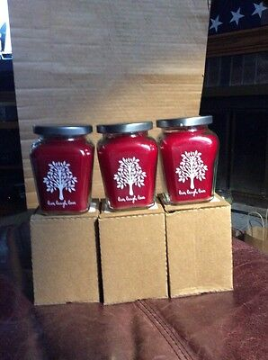 New (6) 7.5oz CELEBRATING HOME Baked Apple Pie Candles: