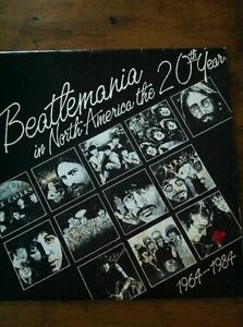 Beatlemania calendar 20th anniversary for collectors