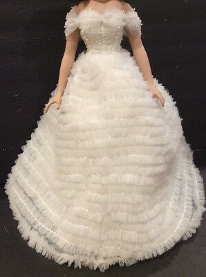 "Tonner Miss America WHITE BALL GOWN & RED CAPE  18"" Doll Fashion"