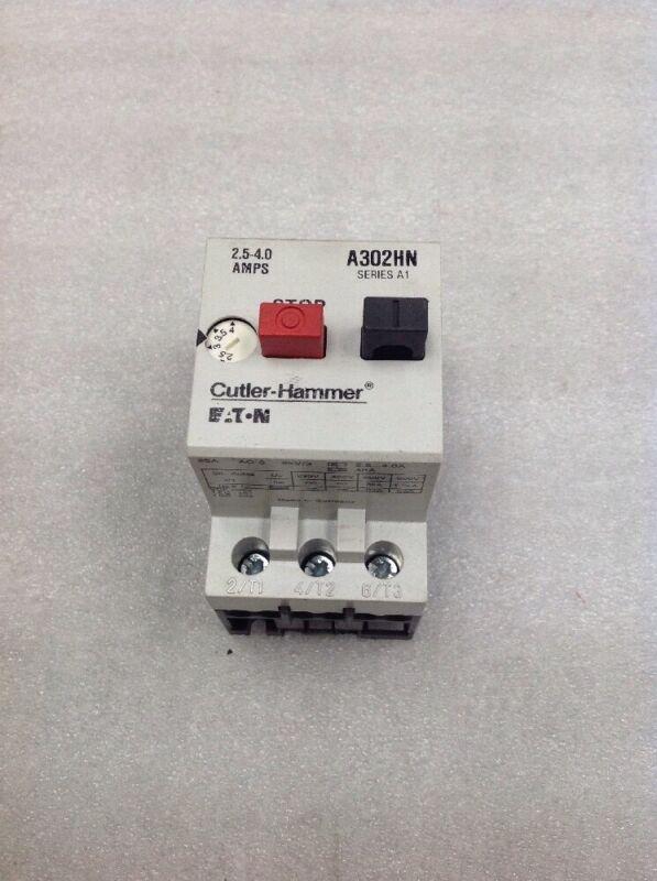 Eaton Cutler-Hammer A302HN Motor Starter Protector