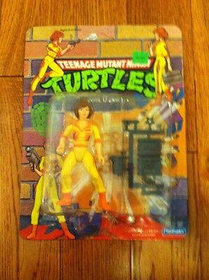 Teenage Mutant Ninja Turtles April O'Neil Fig Sealed Yellow & Orange Outfit 1990 (Tmnt Outfits)