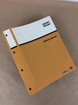 Case 9060 Excavator Crawler Track Service Manual Repair Shop Book Technical