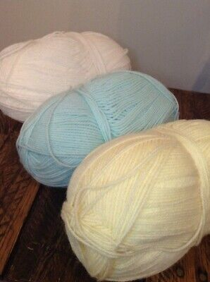 Lion Brand Yarn Baby Soft Yarn Light Worsted Weight Pastel Bundle of 3 Baby Soft Yarn Pastel