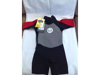 No fear boys wetsuit size 9-10 yrs New
