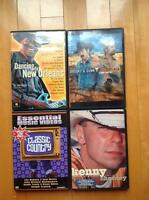 4 DVD musique country