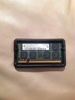 Hynix 1GB 2Rx8 PC2-5300S-555-12-E0 (DDR2-667) HYS64T128021EDL-3S-B2 SO-DIMM