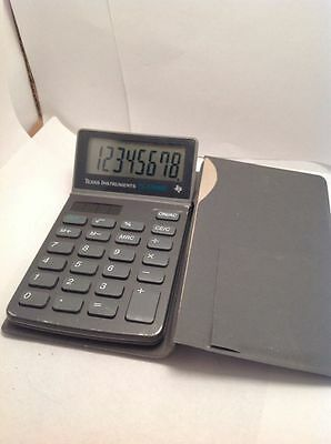 TEXAS INSTRUMENTS TI-1768II SOLAR POWERc CALCULATOR VINTAGE