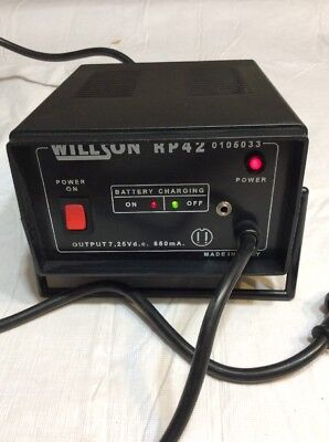 Willson Rp42 Battery Charger For Powered Air Purifying Respirator 02202a