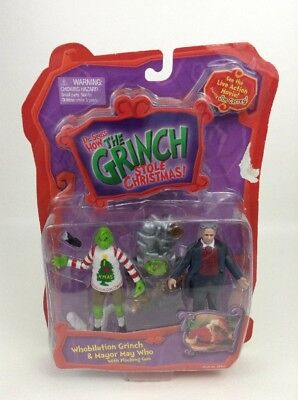 Dr Seuss Spielzeug (Dr Seuss How The Grinch Stole Christmas: Whobilation Grinch & Mayor May Who Gun)