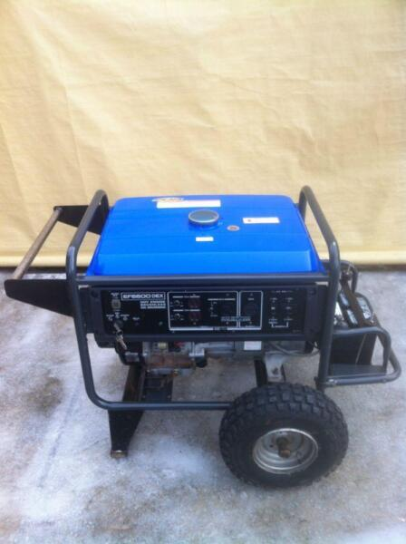 Yamaha generator ef6600dex better than honda mitsubishi for Honda vs yamaha generator