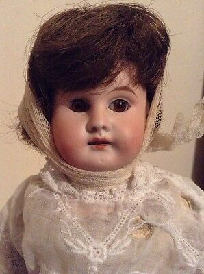 Antique German Doll 13 Inches Tall