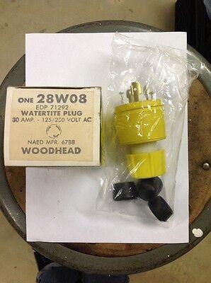 Woodhead Watertite Plug 28 W08 30 Amp