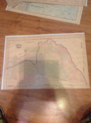 1877 G.M. Hopkins,Race Way Dogwood Road Rolling Road B & O Railroad Map