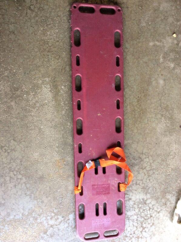 Board Of Boards Backboard Adult Stretcher Spinal Immobilization EMS EMT