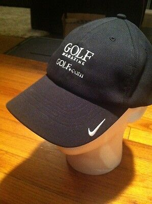 Nike Golf Hat Black Adjustable Golf Com Golf Magazine  Rr