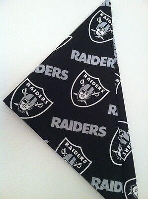 NFL Oakland Raiders Bandana Handmade](Raiders Bandana)
