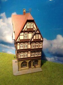 Kibri H0 8924 Fachwerkhaus mit Modegeschäft, gebaut, siehe Bilder (44/044)
