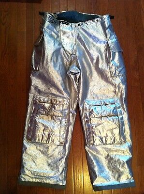 Fire Gear Firestar P82spm Firefighter Turnout Proximity Pants 40 Excellent Cond