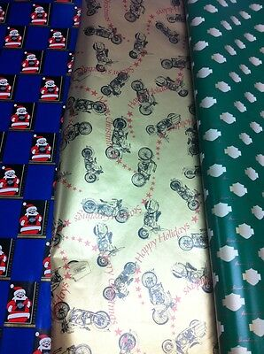 Harley Davidson Christmas Holiday Wrapping Paper 99939-97z