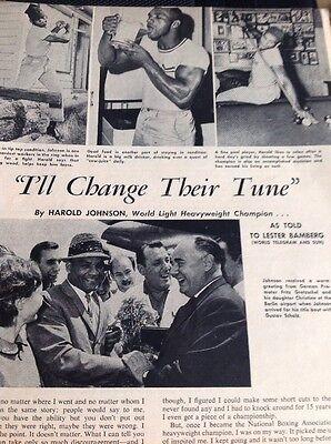 Европа Article 1962 Harold Johnson Boxer