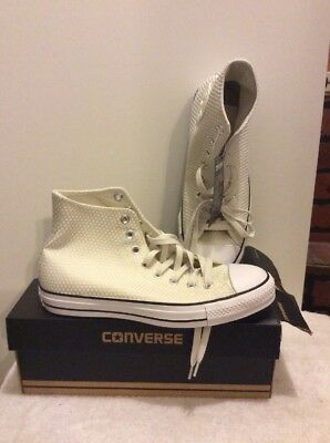 Gossip WOMEN'S HI TOPS IVORY SHOES SIZE 9 US 7 UK