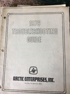 1976 Arctic Cat Snowmobile Trouble Shooting Guide