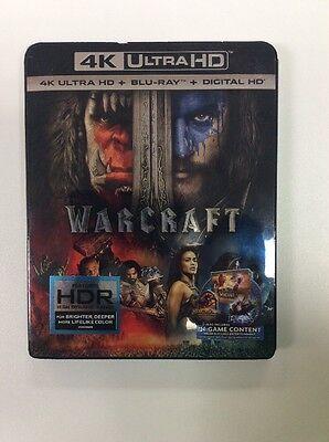 Warcraft  4K Ultra Hd   Blu Ray   Digital Hd  2016 Brand New