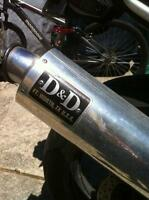 YAMAHA 1996 YZF600RH2R THUNDER CAT D&D SLIP ON EXHAUST CAN