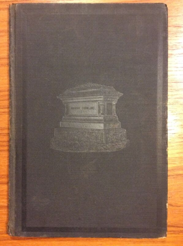 Antique 1888 New York ROSCOE CONKLING Proceedings of the Senate Memoriam