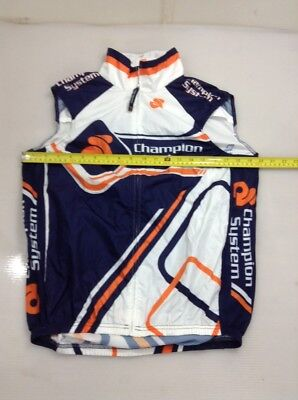 Champion System Womens Size Large L Cycling Wind Vest (5617-28)