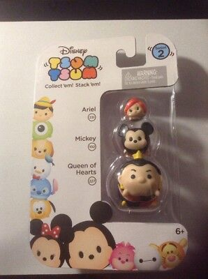 Disney Tsum Tsum Aerial Mickey Mouse Queen Of Hearts Character Pack Series 2](Aerial Disney)