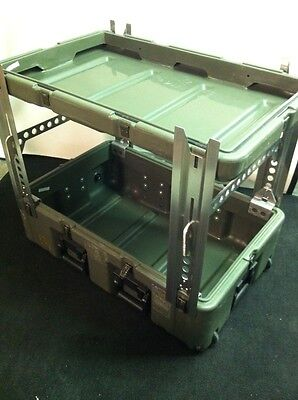 Leg Set For HARDIGG/PELICAN Cases. Turn Your Shipping Case Into A Table See Des.