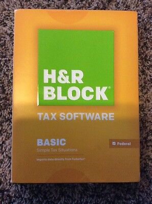 H R Block Tax Software 2014   Basic  Pc   Mac