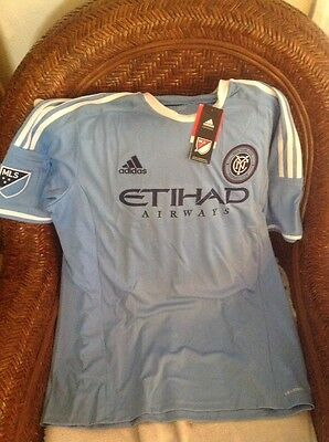 ADIDAS  CLIMACOOL New With Tags new york city FC soccer Jersey Size XL Mens image