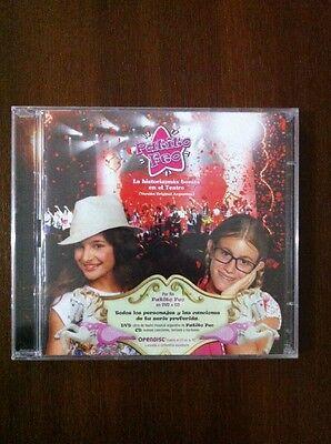 PATITO FEO LA HISTORIA MAS BONITA EN EL TEATRO - CD + DVD PAL 0 - NEW PRECINTADO segunda mano  Arcas