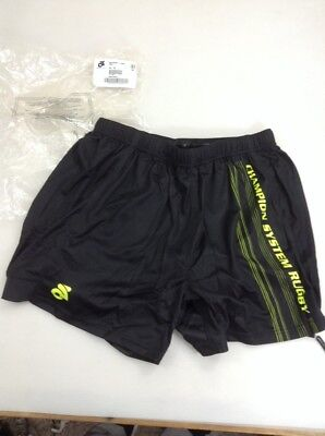 sports shoes ddbb7 024dc Champion System Mens Summer Rugby Shorts Size Xxl 2Xl (5617-54)