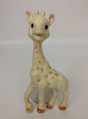Giraffe Baby Flexible Teething Toy Squeaker Vintage Original