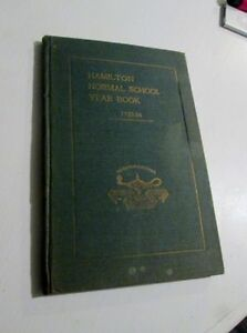 Hamilton Normal School Year Book - 1923-24