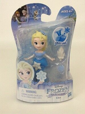 Disney Frozen Little Kingdom Princess Elsa Doll Snap-Ins Hasbro 4+ New - Disney Princesses In Frozen