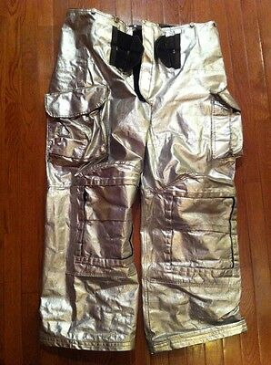 Lion Janesville Firefighter Proximity Pants Shell Only Psua 42 44 Turnout