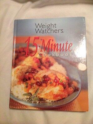 Weight Watchers 15 Minute Cookbook By Inc  Staff Weight Watchers International