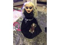 halloween doll costume sz 8 to 10 .more for sale