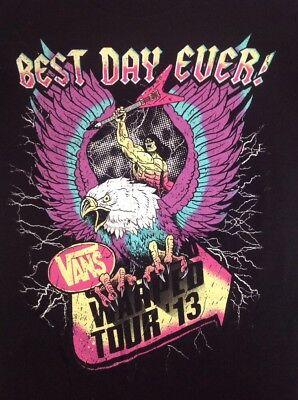 VANS TOUR 2013 Best Day Ever Men's S T-shirt Tour