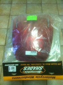 SUZUKI KATANA GSX600/750 88-97 RED WINDSHIELD NEW Windsor Region Ontario image 2