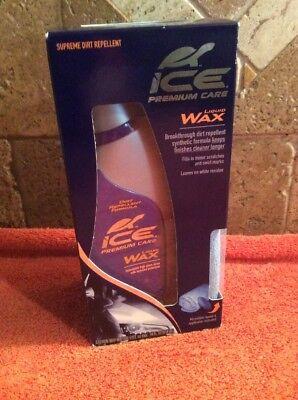 Turtle Wax ICE Premium Car Care LIQUID WAX POLISH Microfiber Towel NEW ()